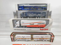 CA301-1# 4x Herpa 1:87/H0 LKW MB: 811422+Oldenburg+867042 etc, s.g.+OVP