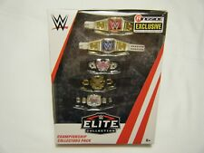 WWE Elite Collection CHAMPIONSHIP COLLECTORS PACK 5 Belts RINGSIDE Womens NXT