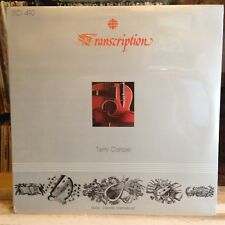 [ROCK/POP]~SEALED LP~TERRY CARISSE~Self Titled~{Original 1979~RADIO CANADA~Issue