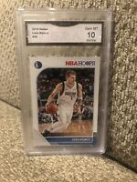 Luka Doncic 2019 Hoops Graded 10 Dallas Mavericks