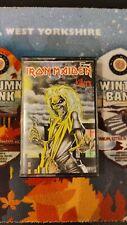 More details for iron maiden, killers reissue cassette tape album (fame) cream fa 4131224