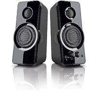 REFURBISHED BlackWeb BWA15HO110 2.0 Powerful Speaker System