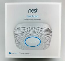 Nest Protect 2nd Gen Smoke/Carbon Monoxide 120V Wired Alarm Excellent