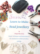 Large Jewellery Making Starter Kit inc Tools,Book, Findings,Beads and FREEBIES