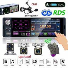 1 Din 4.1 Inch Car Radio Bluetooth Touch Screen FM Audio RDS USB Aux TF CAMERA