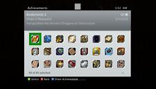 Borderlands 2 Achievement Unlock Service - 1625 Gamerscore on Xbox 360!