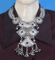 Statement Necklace Bib Choker Chunky Boho Gypsy Afghan Kuchi Hot Fashion Jewelry