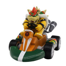 Super Mario Bros. Figure King Bowser Pull Back Racer Racing Cars Kids Toys 12cm