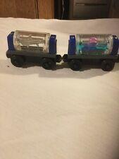 Pre Owned Thomas Train, Set Of 2 Aquarium Cars.
