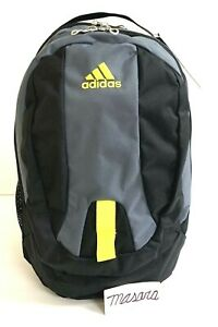 Adults Adidas Journal Large Capacity BackPack Onix/Black/Shock Yellow