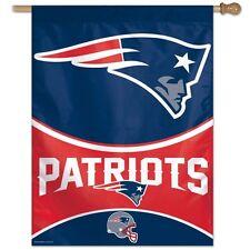 "Wincraft New England Patriots   Vertical Flag 27 "" x 37 "" New"