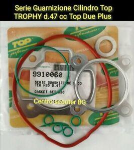 SERIE KIT GUARNIZIONI CILINDRO TOP TROPHY D.47 DUE PLUS F12 F15 AEROX  9910060