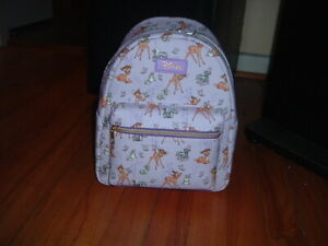 LOUNGEFLY DISNEY BAMBI & FRIENDS MINI BACKPACK~ WITH TAGS~BRAND NEW~