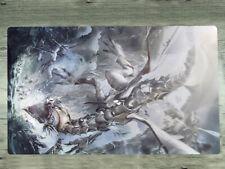 Yugioh Playmat Yu-Gi-Oh! OCG Blue-Eyes White Dragon TCG CCG Play Mat + Mat Bag