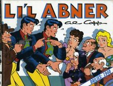 AL CAPP LI'L ABNER #6+ #8+ #9 DAILIES 1940/1942/1943-KITCHEN SINK (USA) 3 LIVRES