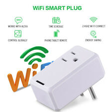 Intelligent APP Remote Control US Plug Smart Power Plug WiFi Socket Switch US