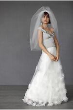 BHLDN Anthropologie Ivory CALLISTEMON Tulle Wedding Skirt NWOT Size 2 $1,100