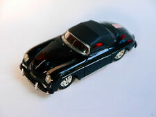 Porsche 356 A Speedster in schwarz nero noir negro black, Corgi in 1:43!