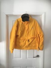 G Gear for sports Yellow Golf jacket with fleece lining and front pocket medium