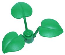 ☀️Lego City x1 Green Plant w/ 3 Leaves Bush Shrub Flower Tree Minifigure NEW