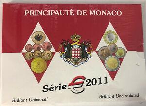 Monaco Euro BU 2011 Albert II (9 pièces) Mariage neuf sous blister KMS