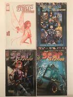 Gear Station Comic Bundle #1 #2 #3 #4 (#1 Alex Ross Variant) Image Comics  (22)