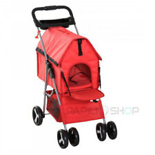 MILO Poussette chariot buggy pour chien animaux chat hondenbuggy airbuggy