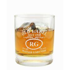 Whiskeyglas mit Gravur Geburtstagsgeschenk Weihnachtsgeschenk Vatertagsgeschenk