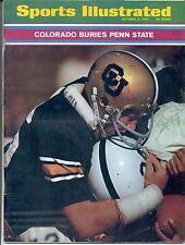 First FRANCO HARRIS Sports Illustrated 1970 PHIL IRWIN Colorado Penn State NoLBL