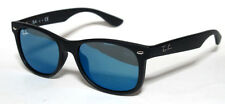 RAY BAN 9052S 9052/S 47 JUNIOR 100S55 SUNGLASSES MATTE BLACK KIDS SOLE BLACK