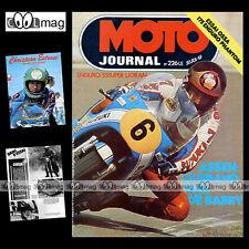 MOTO JOURNAL N°226 MICHEL BALOCHE MOTOBECANE FRANCK GROSS OSSA 175 PHANTOM 1975