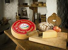 Tyroler Sennkäse aus dem Pinzgau Österreich Käse Raclettekäse 1/2 Laib Raclette