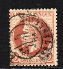 France 2 Cent Stamp c1863-70 Used (3935)