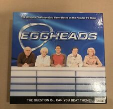 'Eggheads' Board Game Bbc Ultimate Challenge Quiz Game *Excellent Condition*