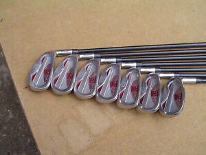 Wilson Tour Control Men's RH 5-SW Graphite Shaft Golf Club Iron Set