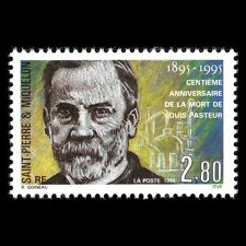 SPM 1995 - 100th Anniv of Louis Pasteur Science - Sc 610 MNH
