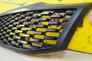 Black Grille for Toyota Hilux Stealth Grille Upgrade - Black - 2012-2015