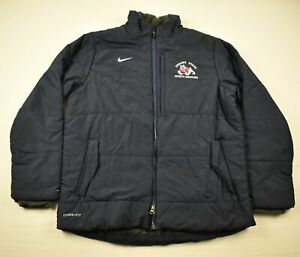 Fresno State Bulldogs Nike Jacket Men's Navy Storm-Fit Used L