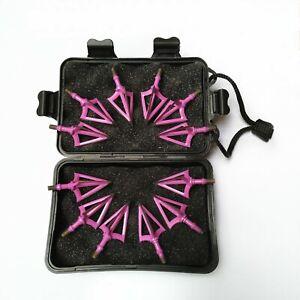 12pcs Archery Target Tag Equipment Set Screw-In Safe Foam Tips Arrow Heads