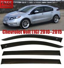 For Chevrolet Volt 2010-2015 Window Black Visor Rain Sun Guard Deflectors