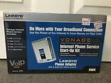 Linksys Phone Adapter Vonage With 2 Port Voice Over IP VoIP PAP2 New Sealed