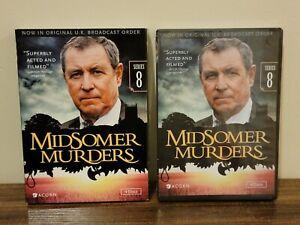 Midsomer Murders: The Complete Series 8 (DVD, 4-Disc Set) ACORN