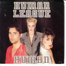 HUMAN LEAGUE Human VG(+) 45 RPM P/S VG+