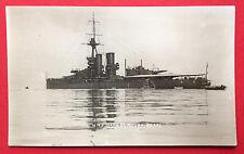 Foto AK SCHIFF um 1914 H.M.S. MARLBOROUGH Flag Kriegsschiff  ( 8010