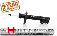 2 NEW FRONT  SHOCK ABSORBERS FOR FIAT DOBLO CARGO II 263 152 / GH-352397H /