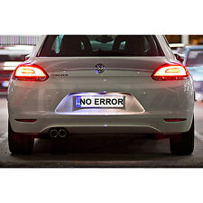 * VW SCIROCCO XENON COOL WHITE LED NUMBER PLATE LIGHT BULBS ERROR FREE