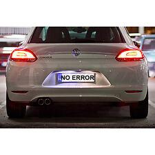 * VW Scirocco Xenon Cool Blanco LED Número De Matrícula Bombillas Libre De Errores