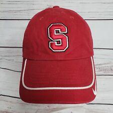 8c67312cda6b4 Nike TEAM Stanford University Cardinal NCAA RED Dad Strapback Hat Cap  Sports -01