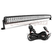 52'' INCH 500W CREE LED Work Light Bar Flood Spot Driving for Offroad 4WD Truck