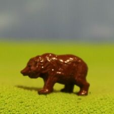 VINTAGE BRITAINS LEAD ZOO ANIMALS - BROWN BEAR CUB - 132